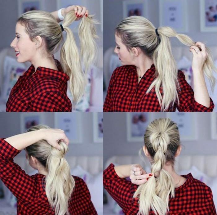 coiffure-originale-jolie-coiffure-ponytail-à-faire-soi-même
