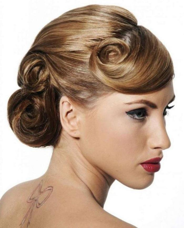 coiffure-pin-up-coiffure-femme-élégante