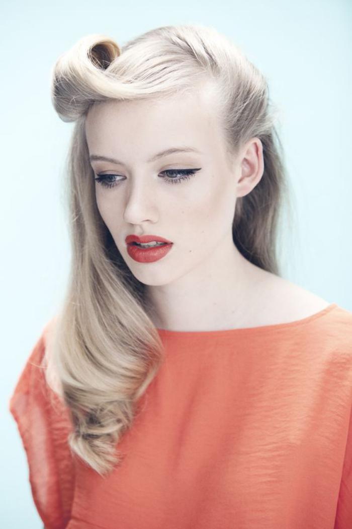 coiffure-pin-up-idées-coiffures-cheveux-longs