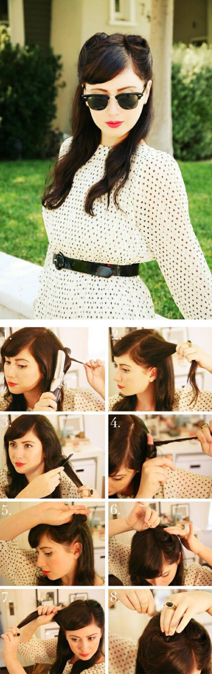 coiffure-pin-up-pas-à-pas