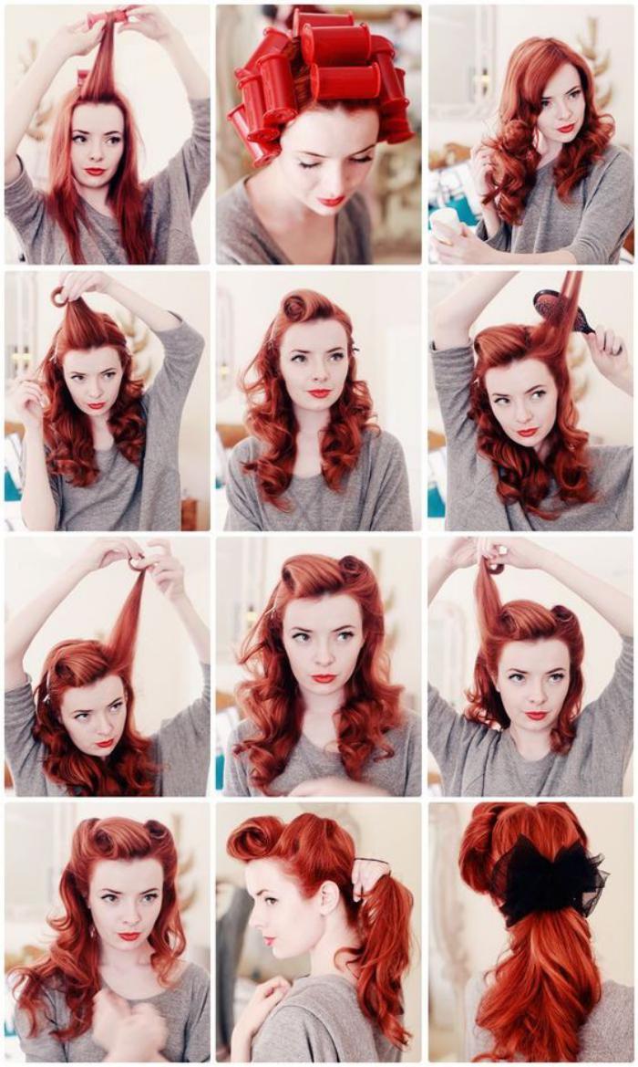 coiffure-pin-up-sur-cheveux-rouges-longs