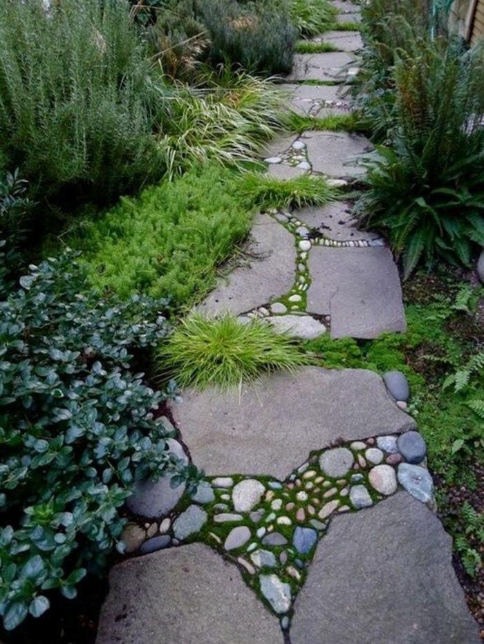 comment-faire-une-allée-de-jardin-revetement-sol-exterieur-pas-cher-allée-de-jardin