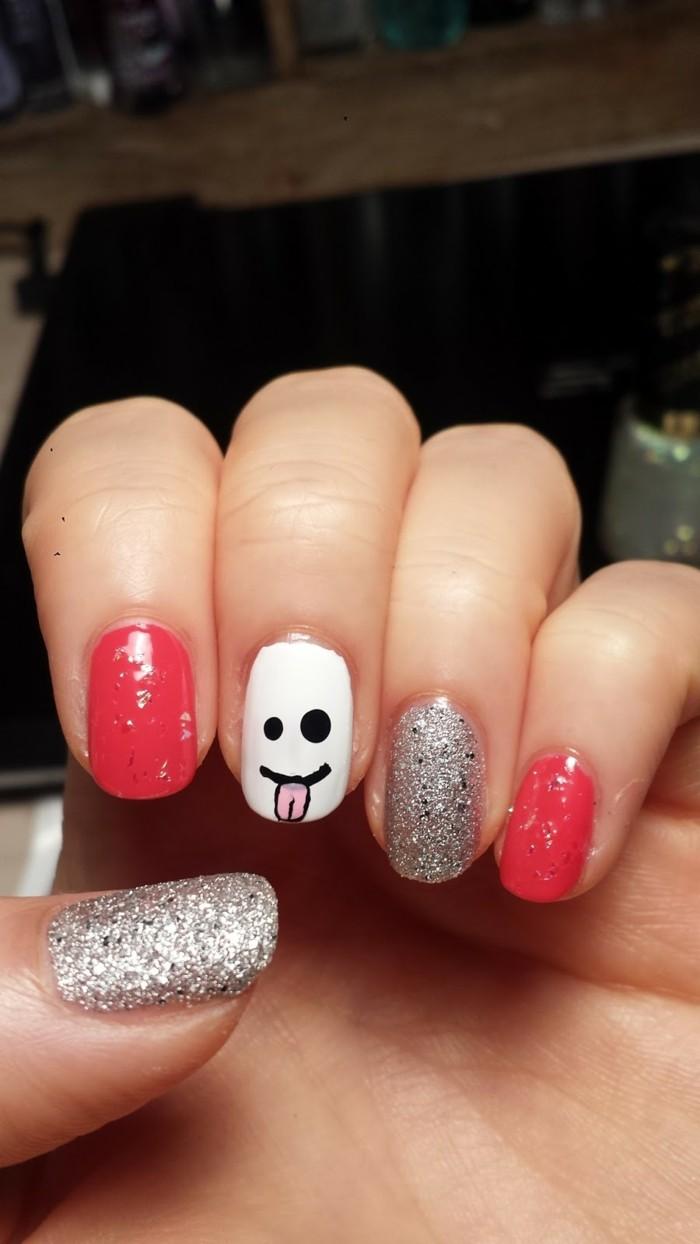 cool-deco-ongle-couleur-dessin-pour-ongles-différents