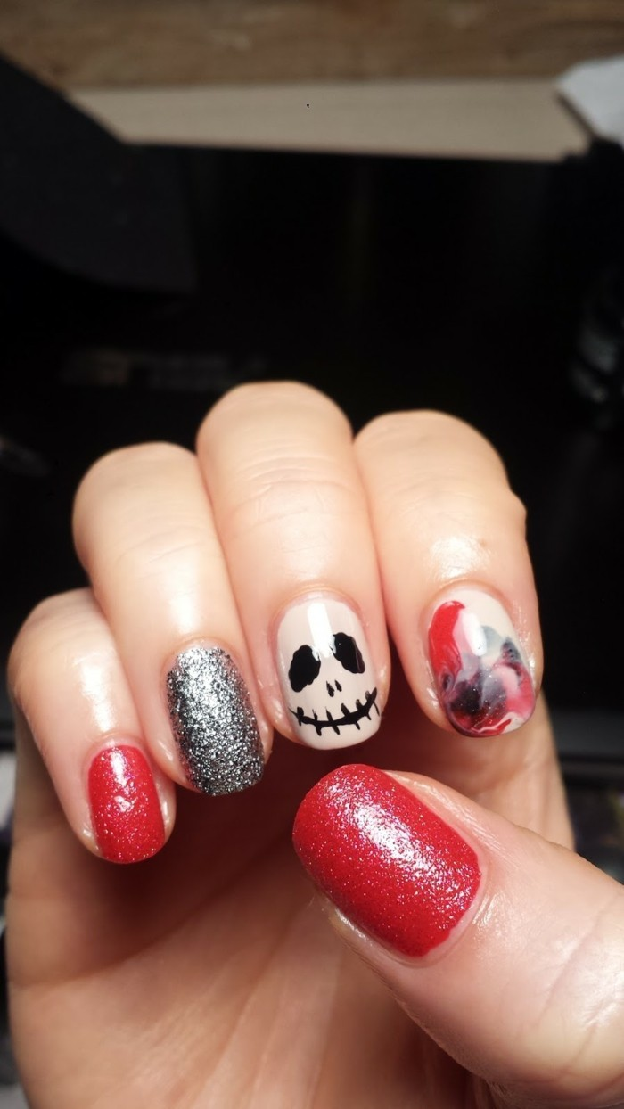 cool-deco-ongle-couleur-dessin-pour-ongles-halloween