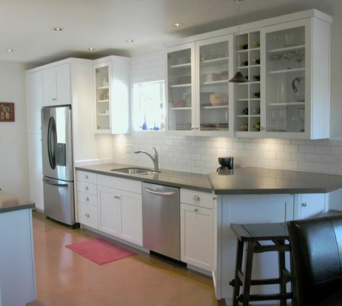 cuisine blanche et inox id es et astuces en 90 photos