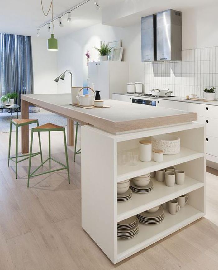 Découvrez Nos Jolies Propositions Pour Cuisine Avec Bar - Table bar pour petite cuisine pour idees de deco de cuisine