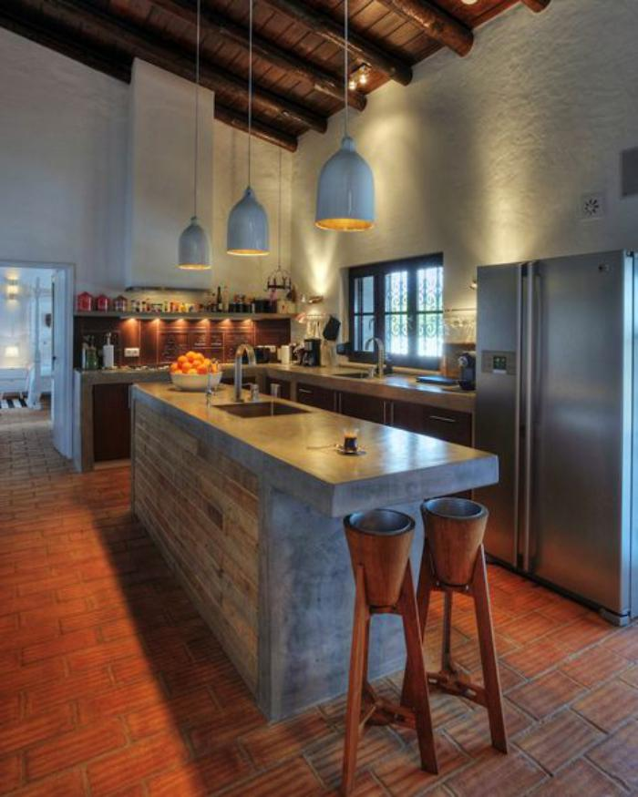 cuisine-avec-bar-comptoir-ilot-de-cuisine-central