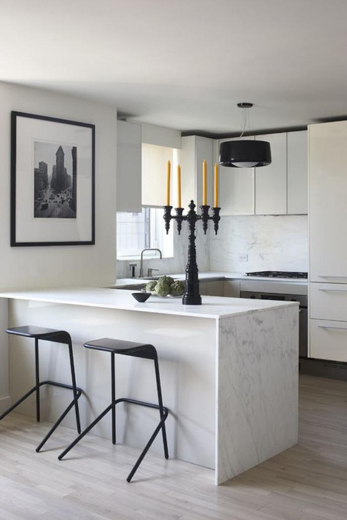 cuisine-avec-bar-cuisine-bar-marbre-blanc