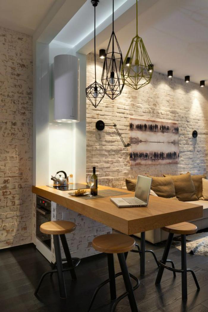 cuisine-avec-bar-cuisine-magnifique-avec-comptoir-en-bois