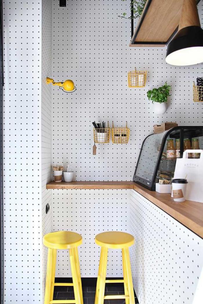 cuisine-avec-bar-petit-bar-dans-une-cuisine-déco-petite