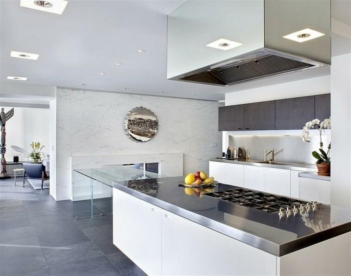 cuisine-blanc-laque-cuisine-blanche-moderne-cuisine-blanche-et-inox