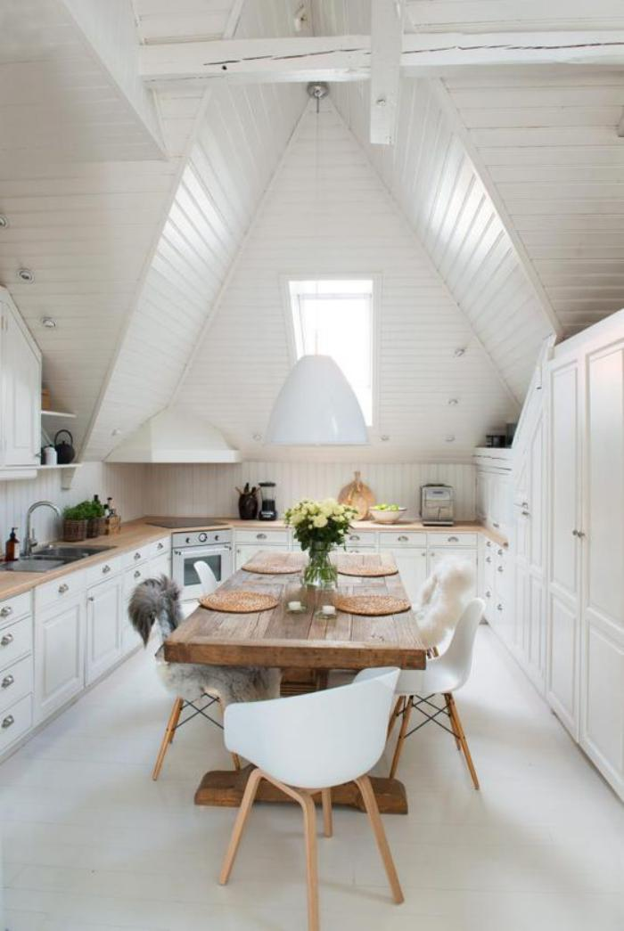 cuisine-blanche-et-bois-cuisine-déco-style-grange