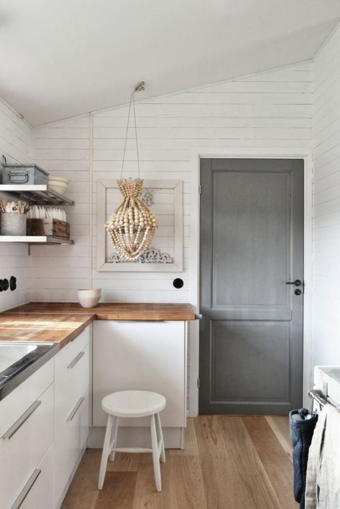 cuisine-blanche-et-bois-déco-cuisine-nordique