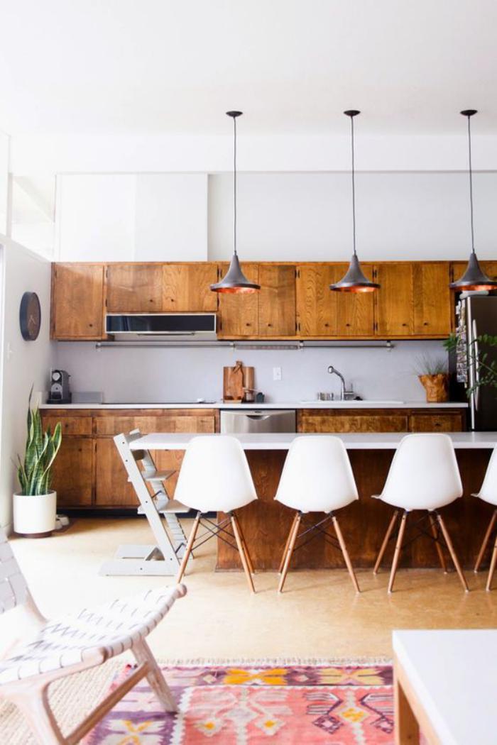 cuisine-blanche-et-bois-jolie-cuisine-plateau-de-comptoir-blanc