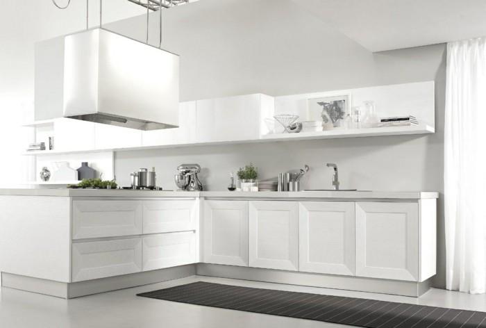 cuisine-blanche-et-inox-cuisine-meuble-blanc-