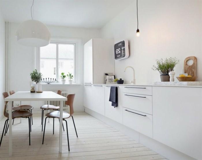 cuisine-contemporaine-blanche-cuisine-blanche-et-inox