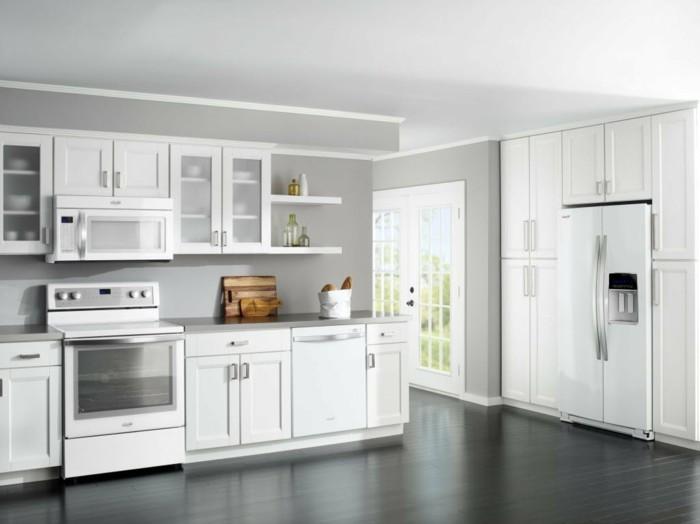 cuisine-laquée-blanc-cuisine-blanche-et-inox