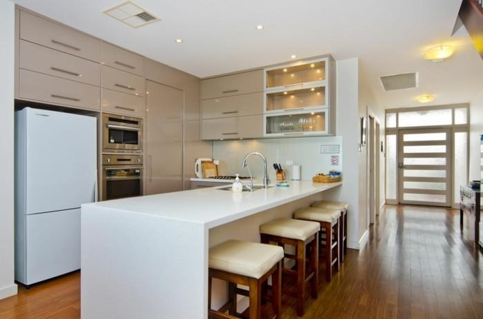 cuisine-meuble-blanc-laqué-et-bois