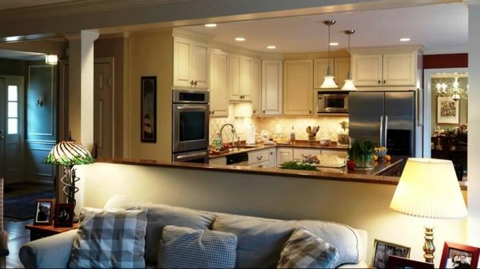 Comment meubler votre cuisine semi ouverte for Exemple de cuisine ouverte sur sejour