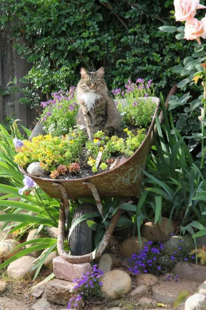 déco-jardin-récup-décoration-jardin-objets-récup