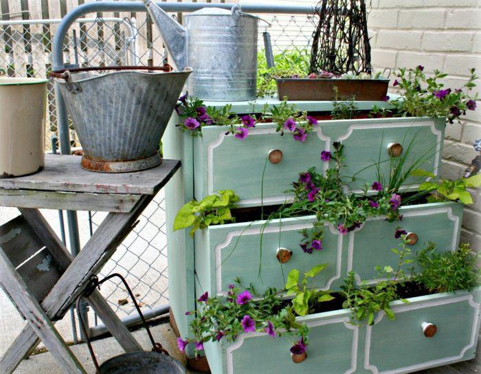 La d co jardin r cup en 41 photos inspirantes for Trouver de l or dans son jardin