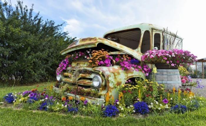 La déco jardin récup en 41 photos inspirantes - Archzine.fr