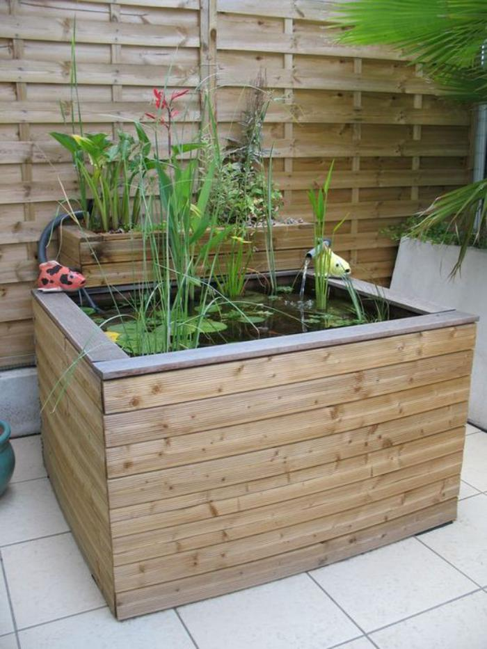 La d co jardin r cup en 41 photos inspirantes for Construire une fontaine de jardin