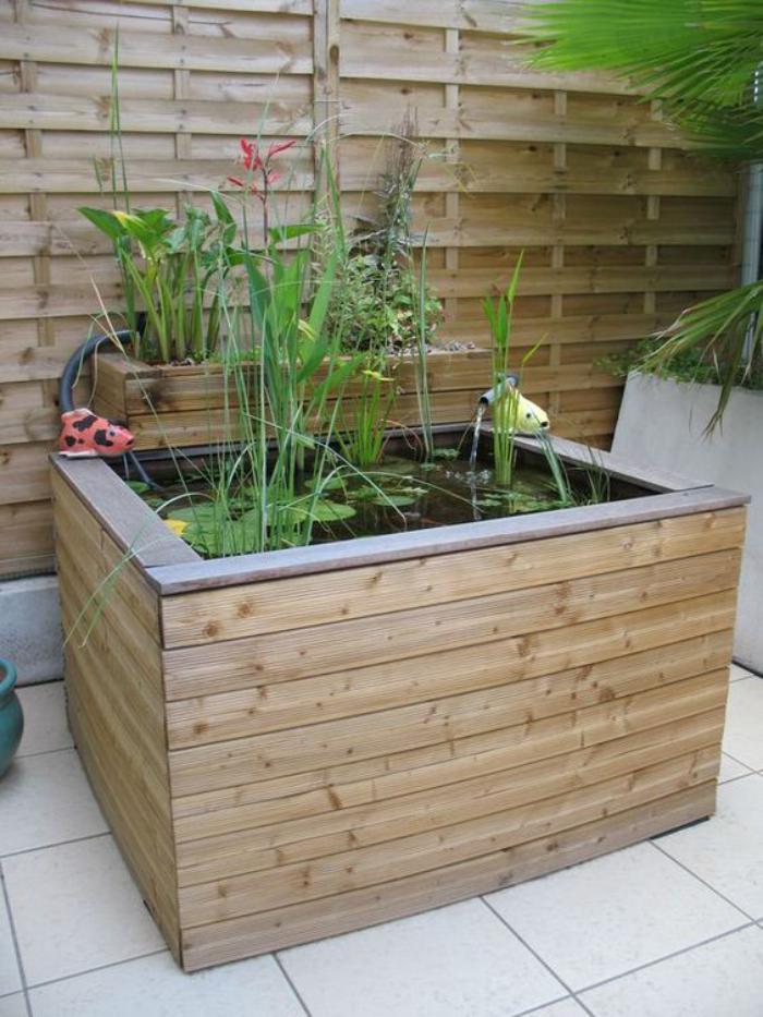 déco-jardin-récup-petite-fontaine-pour-le-jardin