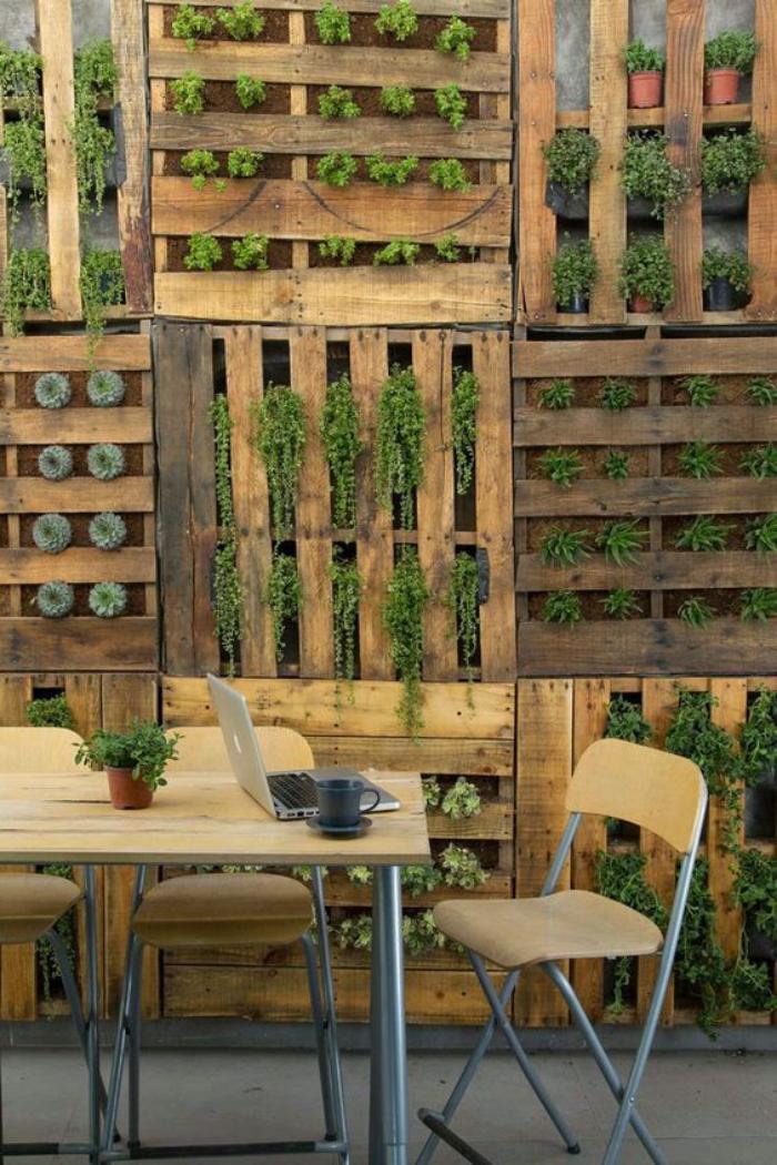 La d co jardin r cup en 41 photos inspirantes for Paletten idee garten