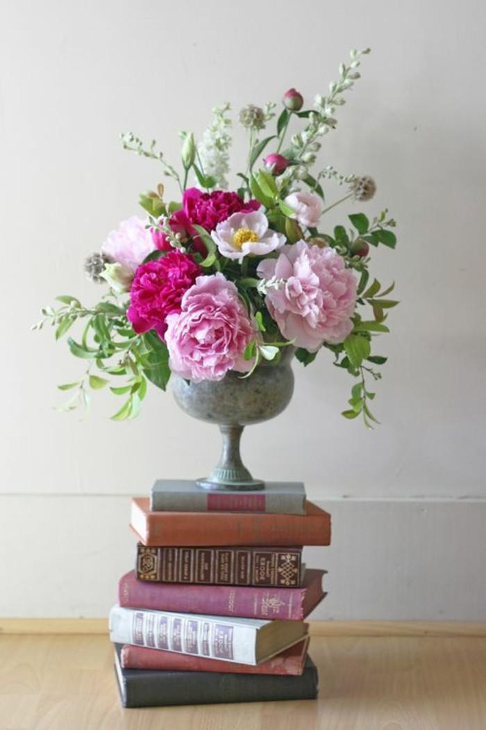 décoration-centre-de-table-florale-déco-idée