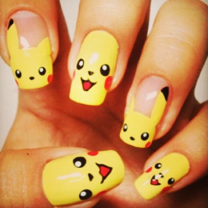 original-nail-drawing-idea-gel-pockemon