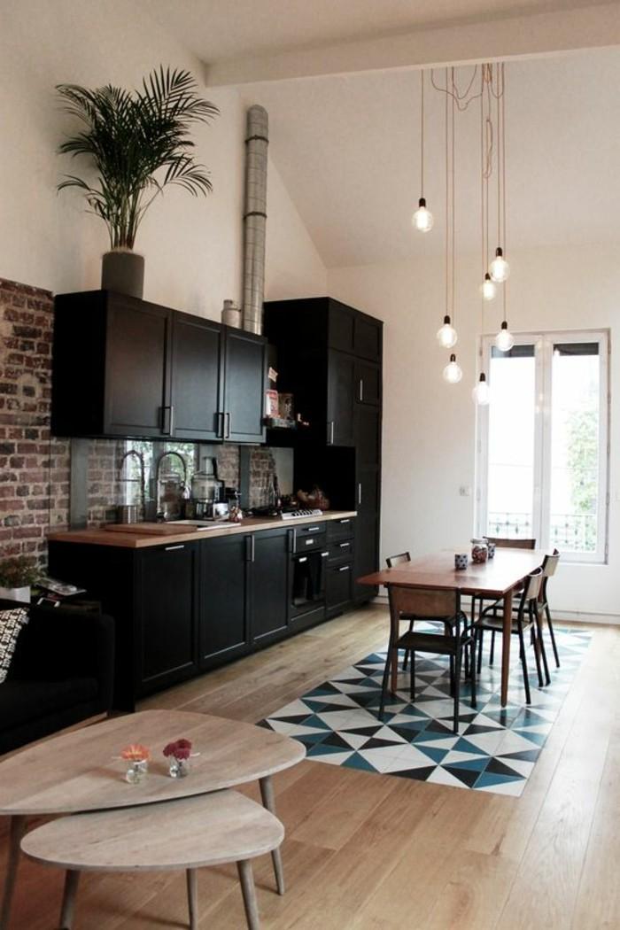 deco-salle-a-manger-sol-en-parquet-déco-appartement-étudiant-meubles-salle-de-cuisine