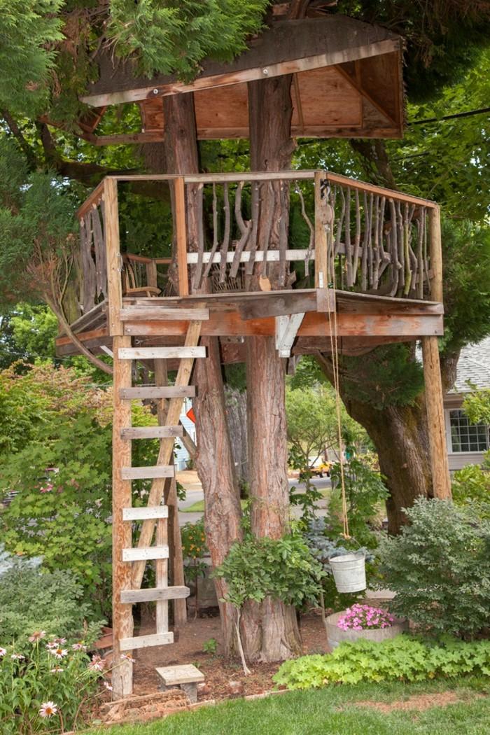 enfant-cabanes-en-bois-enfants-cool-tree-house