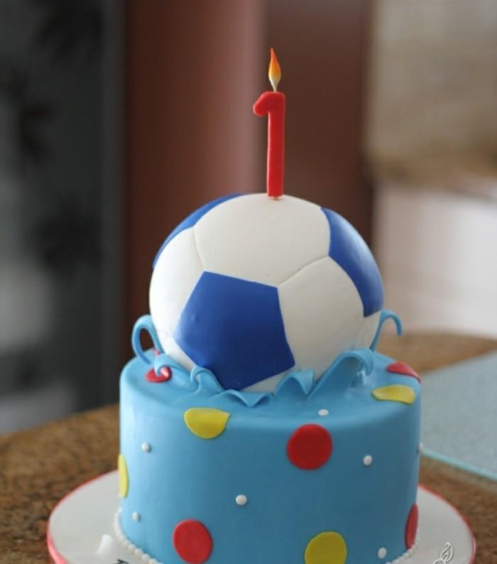 excellent-gâteau-d-anniversaire-enfants-cool-football