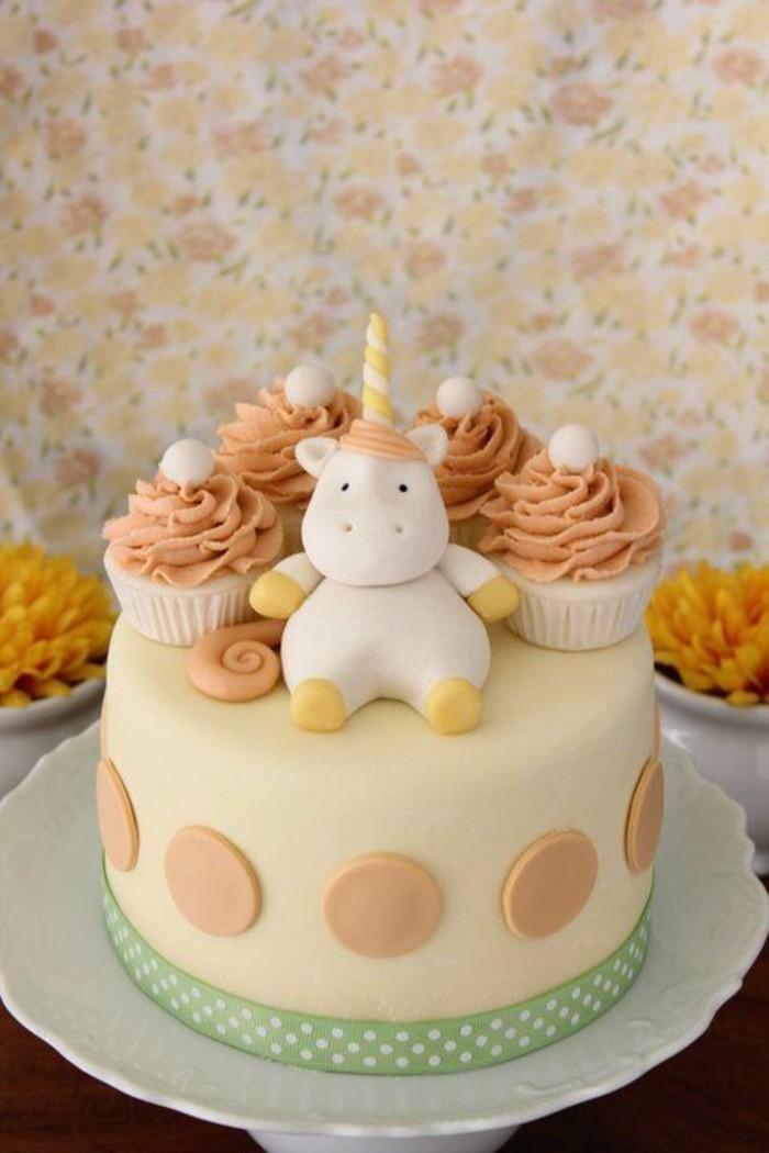 excellent-gâteau-d-anniversaire-enfants-cool-unicorn