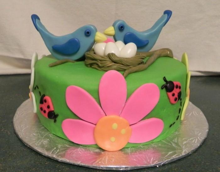 formidable-gâteau-anniversaire-enfants-une-idée-oiseaux