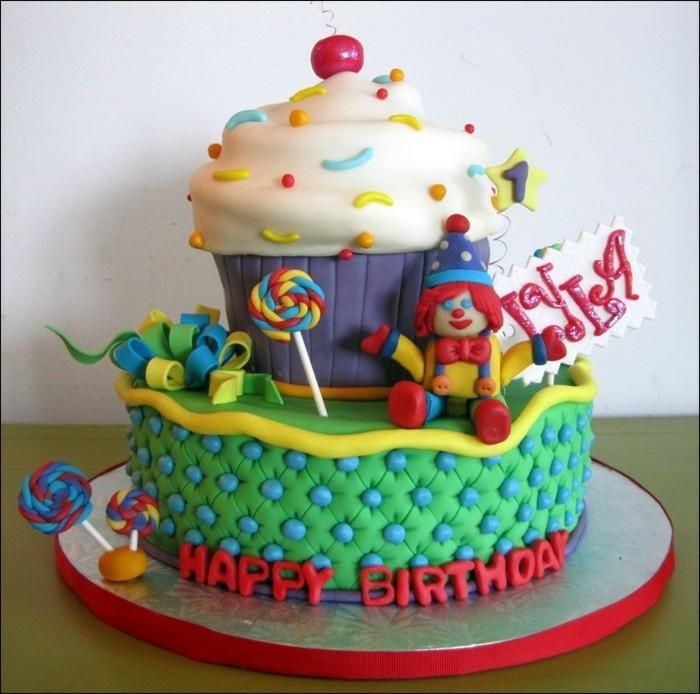 formidable-gâteau-anniversaire-enfants-une-idée