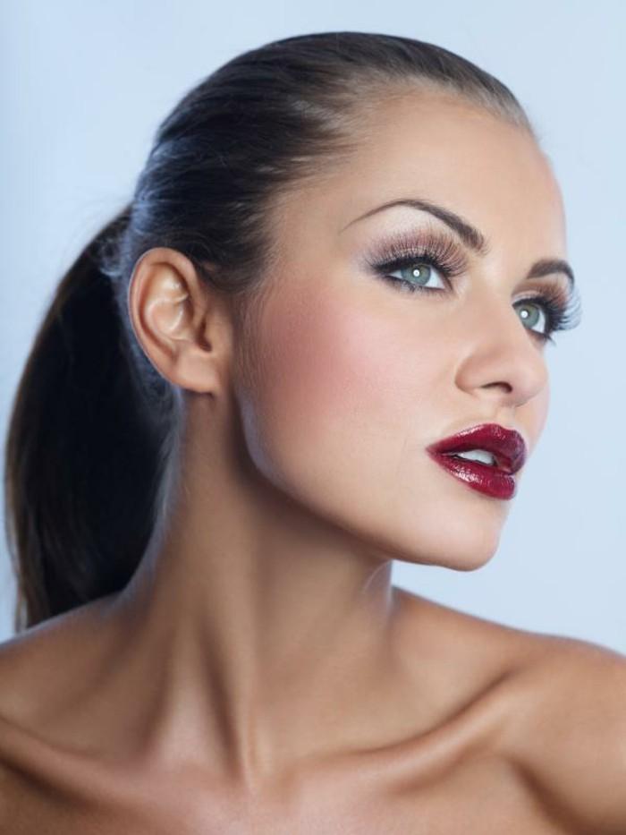 Le maquillage de soir e 55 id es qui vont vous charmer - Maquillage soiree yeux marrons ...