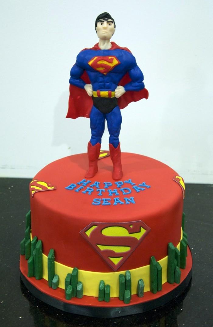 superman-anniversaire-gateau