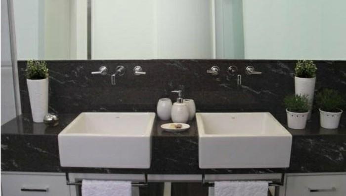 Granit noir dans la maison exemples et conseils Granit noir zimbabwe