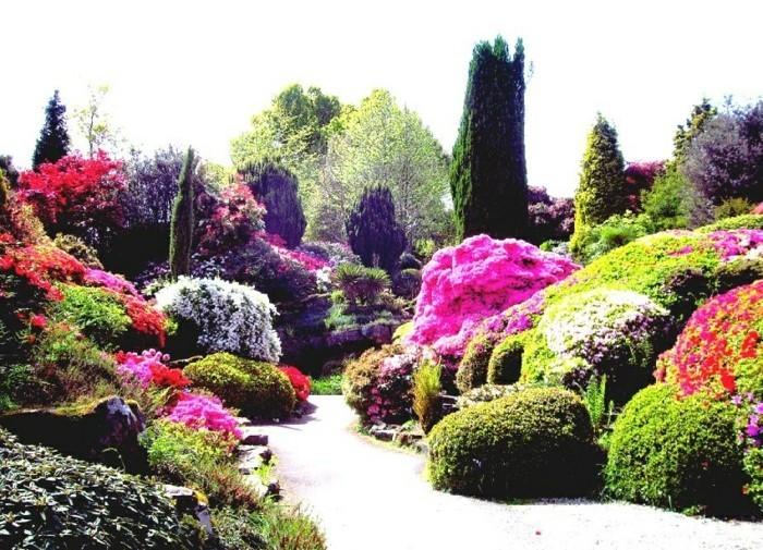 60 id es pour bien agencer son jardin for Paysage jardin exterieur