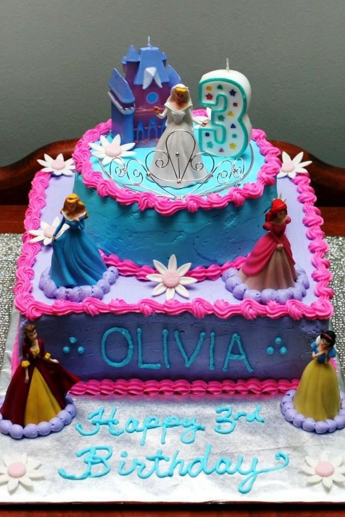 Simple Princess Cake Design : 80 idees originales pour le gateau d anniversaire enfant ...