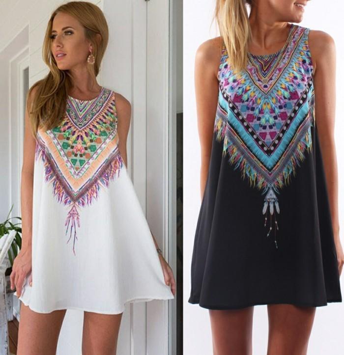idée-quelle-robe-longue-été-pas-cher-porter-sexy