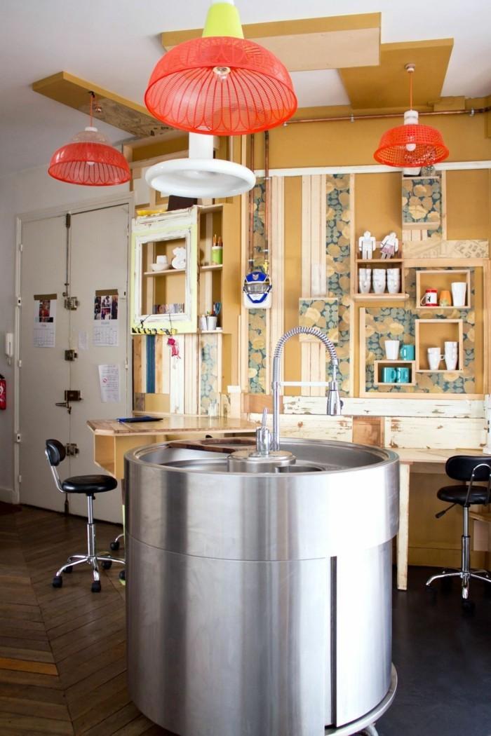 Comment meubler votre cuisine semi ouverte - Cuisine americaine avec ilot ...
