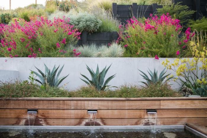 Comment avoir un joli jardin en pente jolies id es en photos et conseils pour l 39 am nagement - Deco pour jardin exterieur ...
