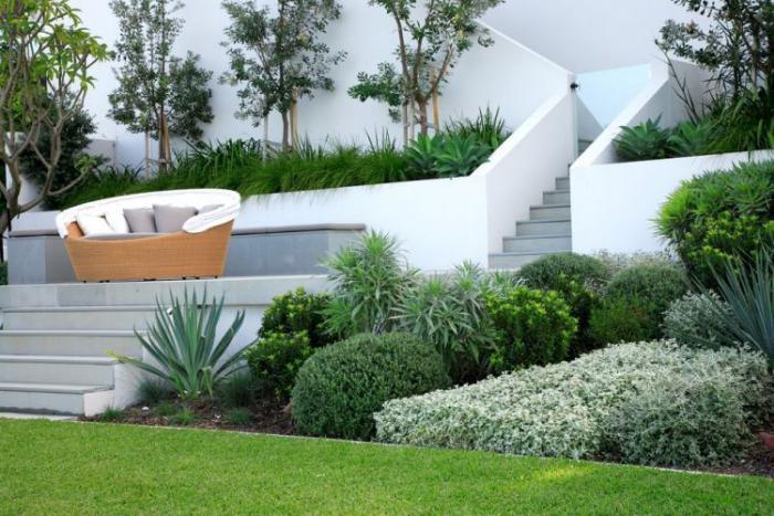 jardin-en-pente-aménager-jardin-en-pente-contemporain