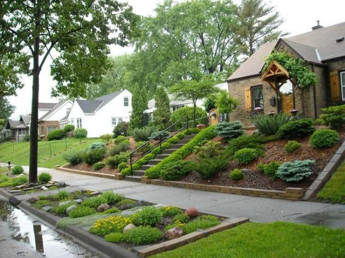 jardin-en-pente-aménager-le-jardin-en-pente