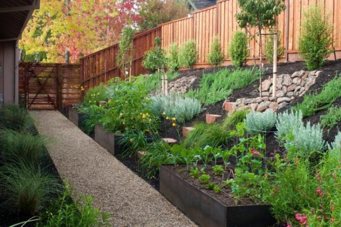 jardin-en-pente-aménager-un-jardin-en-pente