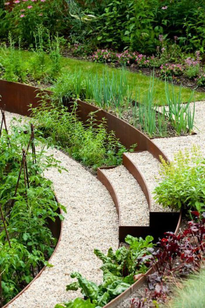 Comment avoir un joli jardin en pente jolies id es en for Idee amenagement de jardin