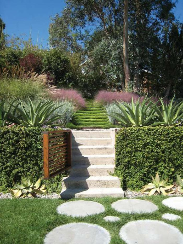 Comment avoir un joli jardin en pente jolies id es en photos et conseils pour l 39 am nagement for Conseil pour le jardin